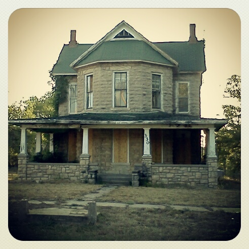 Baker House in Lane, Kansas