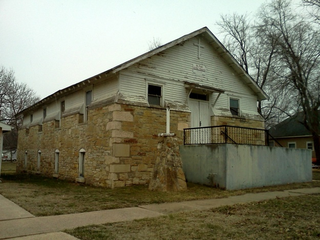St. Paul's A.M.E. Church in Ottawa, Kansas.