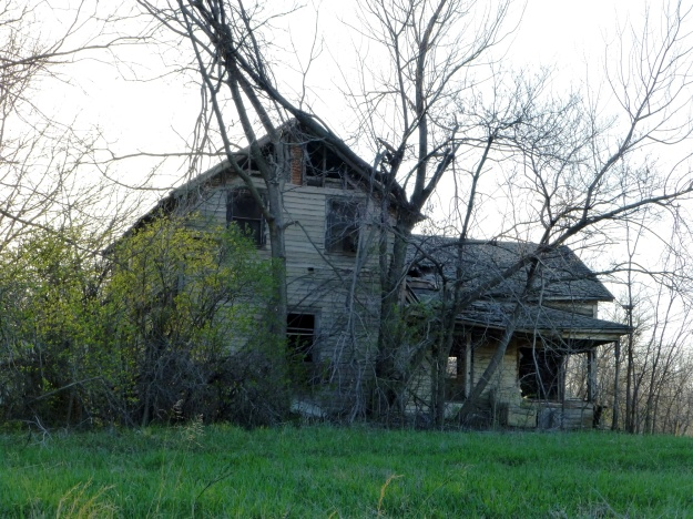 Picturesque rural decay in Franklin County, Kansas.