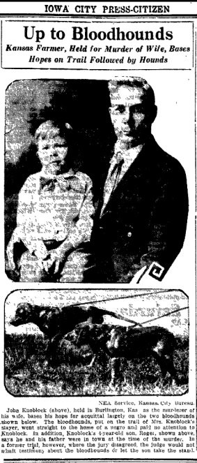 Iowa City Press on May 6, 1926.