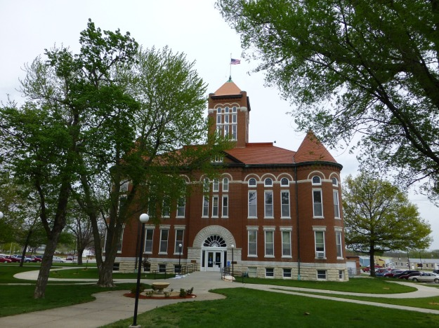 Anderson County Courthouse in Garnett, Kansas.