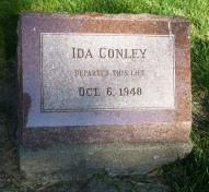 One of three sisters who camped in the cemetery to prevent its sale for development.