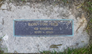 Marker for Ron-Ton-Dee, or Warpole.