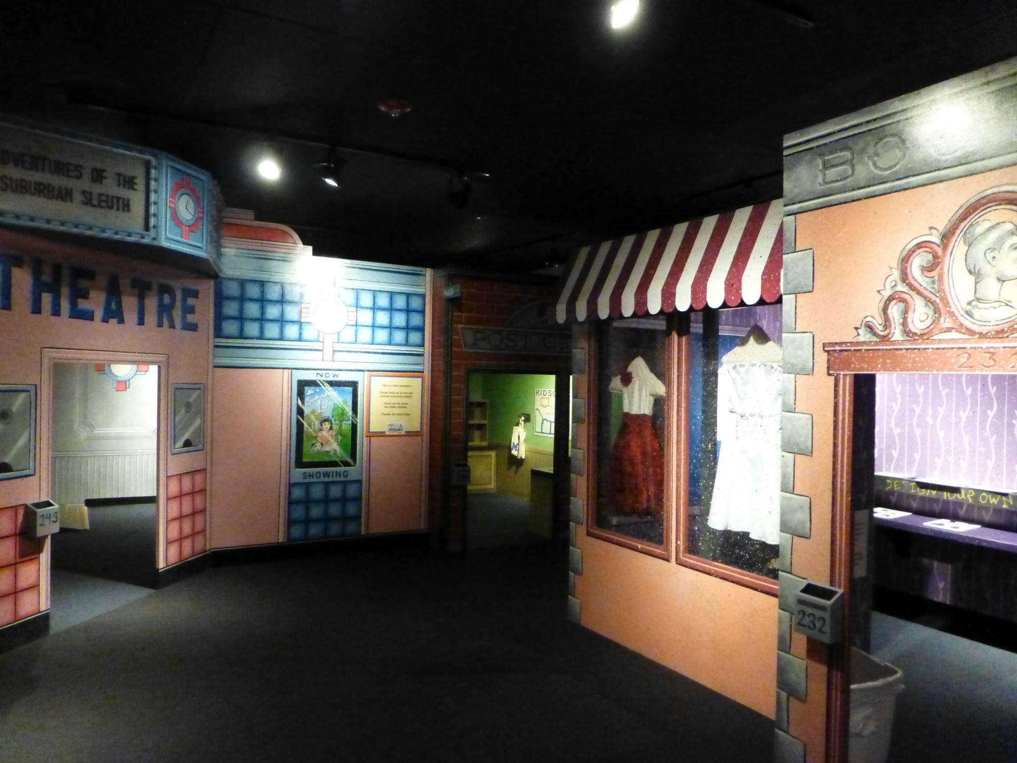 Kansas johnson county prairie village - The Johnson County Museum Kidscape Area