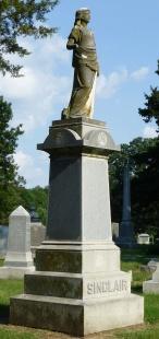 Sinclair monument.