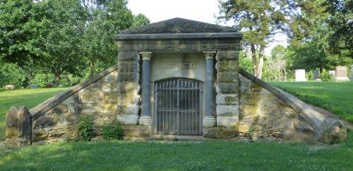 Usher mausoleum.