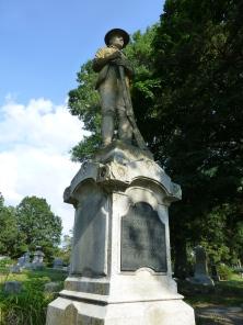 Spanish-American War memorial, front.