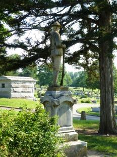 Spanish-American War monument, rear.