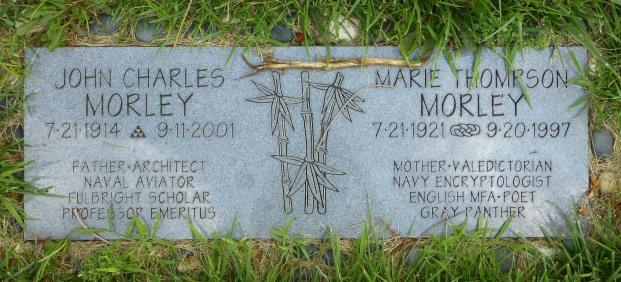 John Morley and Marie Thompson Morley.