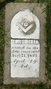 Louis Swan, killed in the Lawrence Massacre.