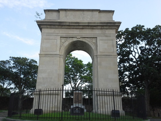 The Rosedale Arch was dedicated to local World War I soldiers in 1923.
