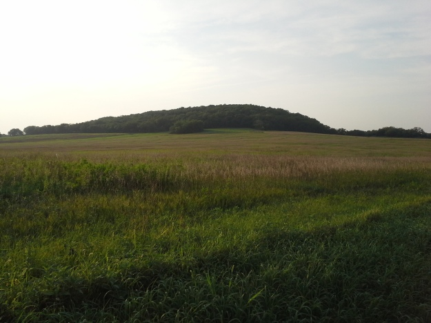 Blue Mound from the southeast.