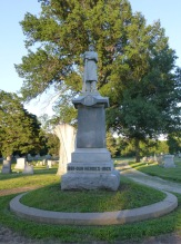 Civil War Memorial, Burlingame Cemetery