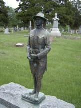 maplewood memorial lawn MAY 17 Favorite Stones Doughboy figure
