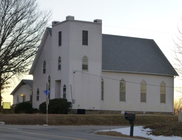 Clearfield Church, which continues to offer services.