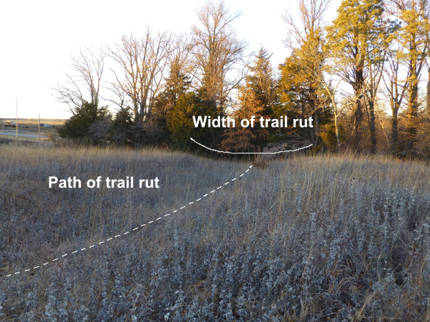 Northwest Trail Ruts Labeled
