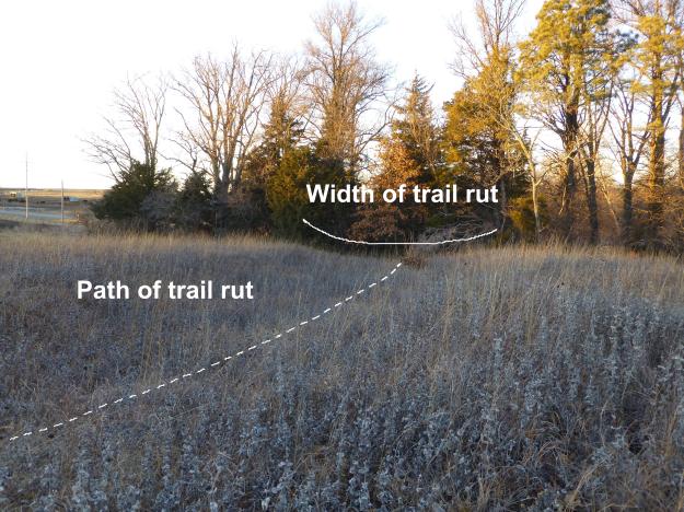 Northwest Trail Ruts Labeled