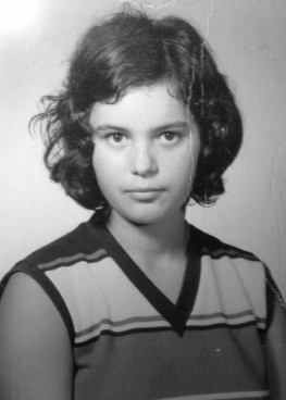 My mom, in the years after a tough childhood and the years before a tougher adulthood.