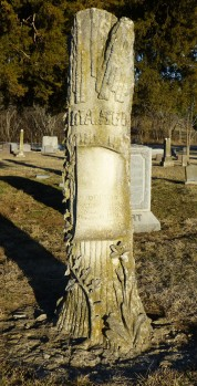 Dorcas Mason, wife of Nelson Mason, died October 14, 1894, aged 69 years, 10 months, 6 days.