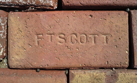 Fort Scott was once home to three brick factories.