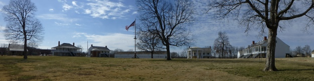 Fort Scott National Historic Site, as seen from the parade ground.