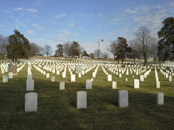 Fort Scott National Cemetery, also known as National Cemetery No. 1.