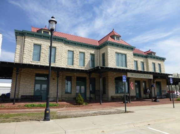 Old Depot Museum in Ottawa, Kansas