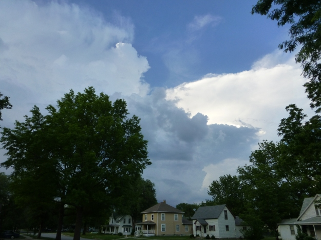Wednesday Evening Storm in Ottawa, Kansas