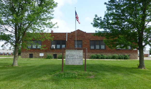 Appanoose School continues to serve as a community center and museum.