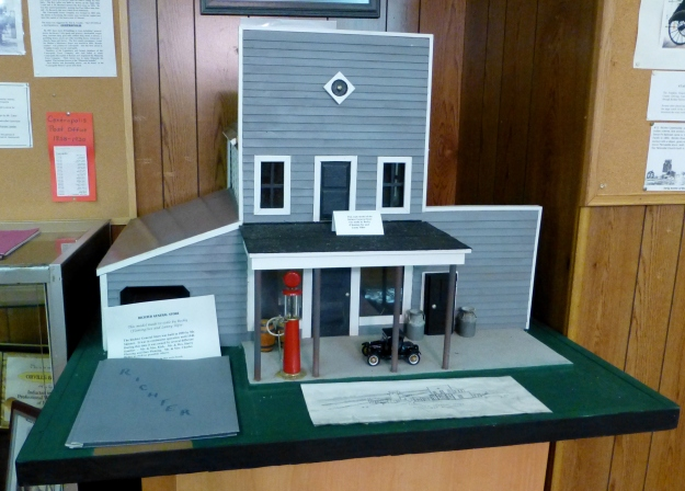 A model of the Richter General Store.