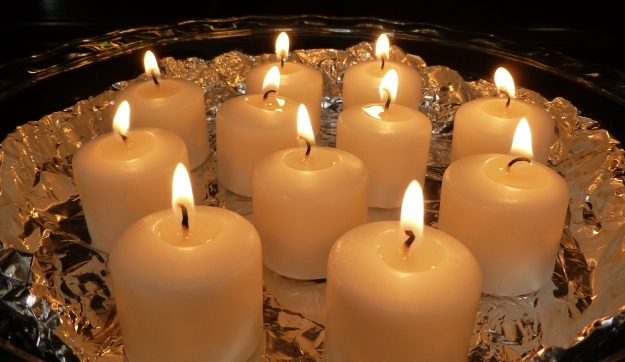 All Souls' Day Candles