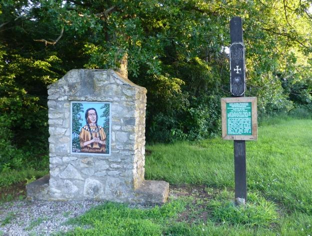 Saint Kateri Tekakwitha memorial
