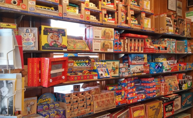 Moon Marble is a mecca for old-timey toys.